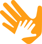 By the Hand Icon