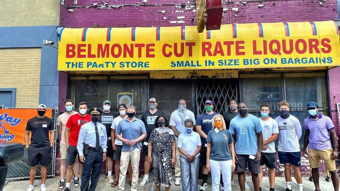 Belmont Cut Rate LiquorsA Food Desert, Austin Harvest