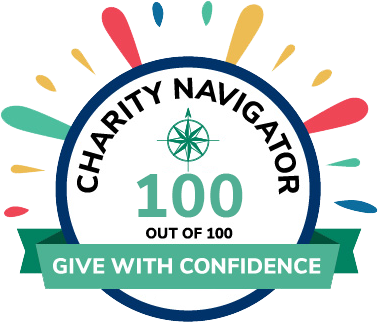 Charity Navigator Badge: 100 out of 100