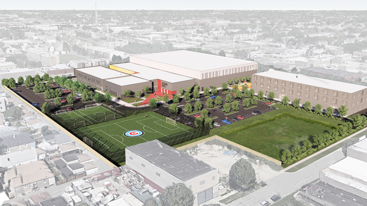 Empty lot transforms into professional-level facility for sports, education and wellness