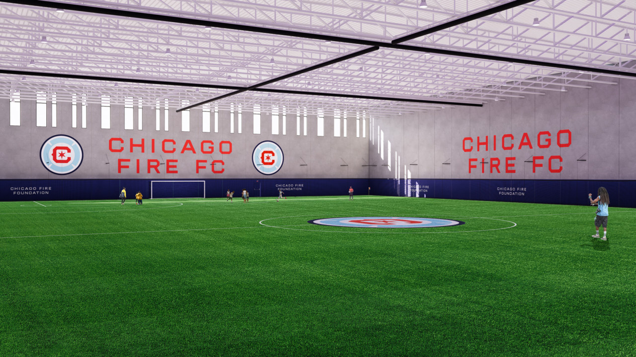 Chicago's first indoor FIFA-regulation field to be housed on North Austin campus for education, sports and wellness
